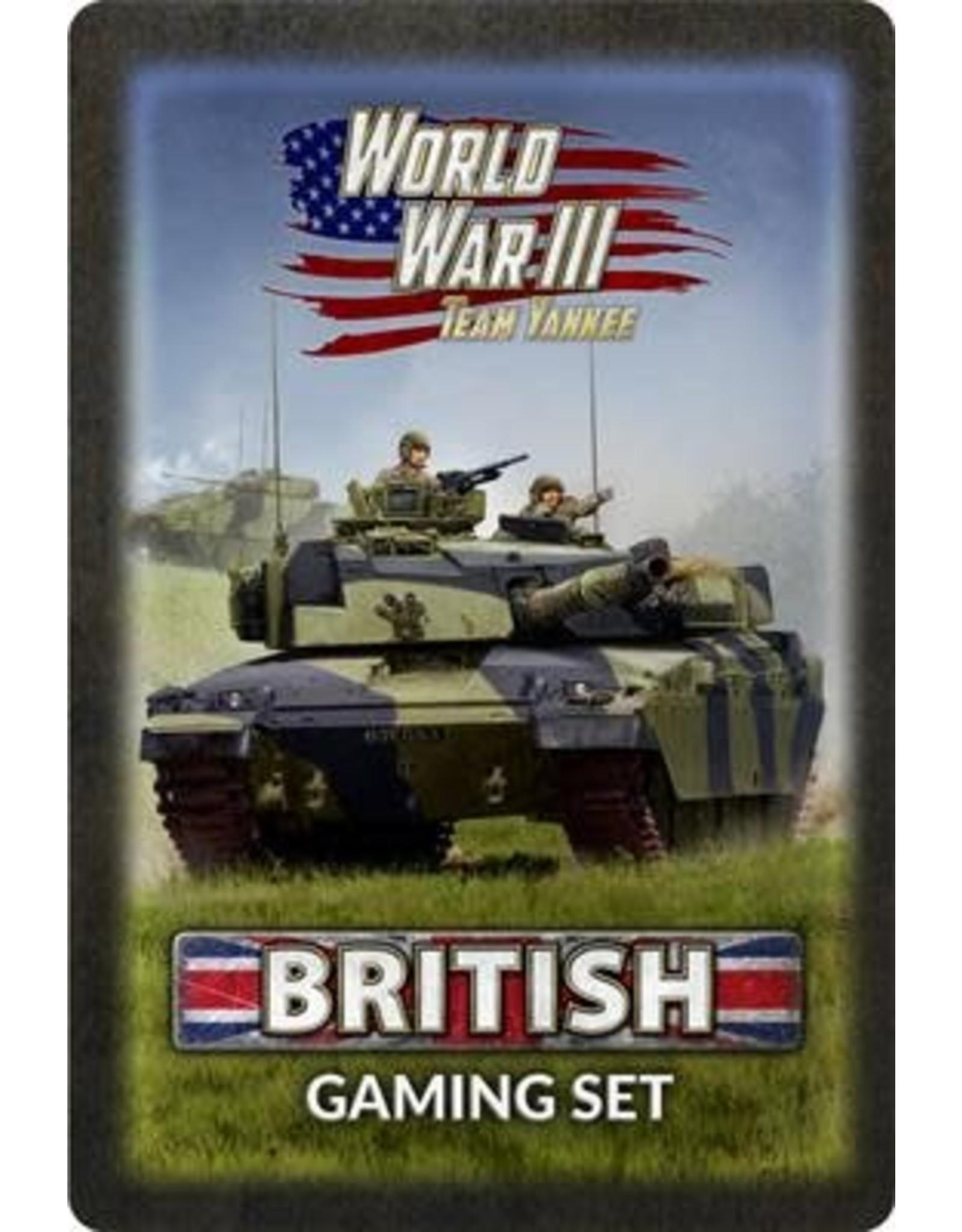 Team Yankee Team Yankee: British Gaming Set