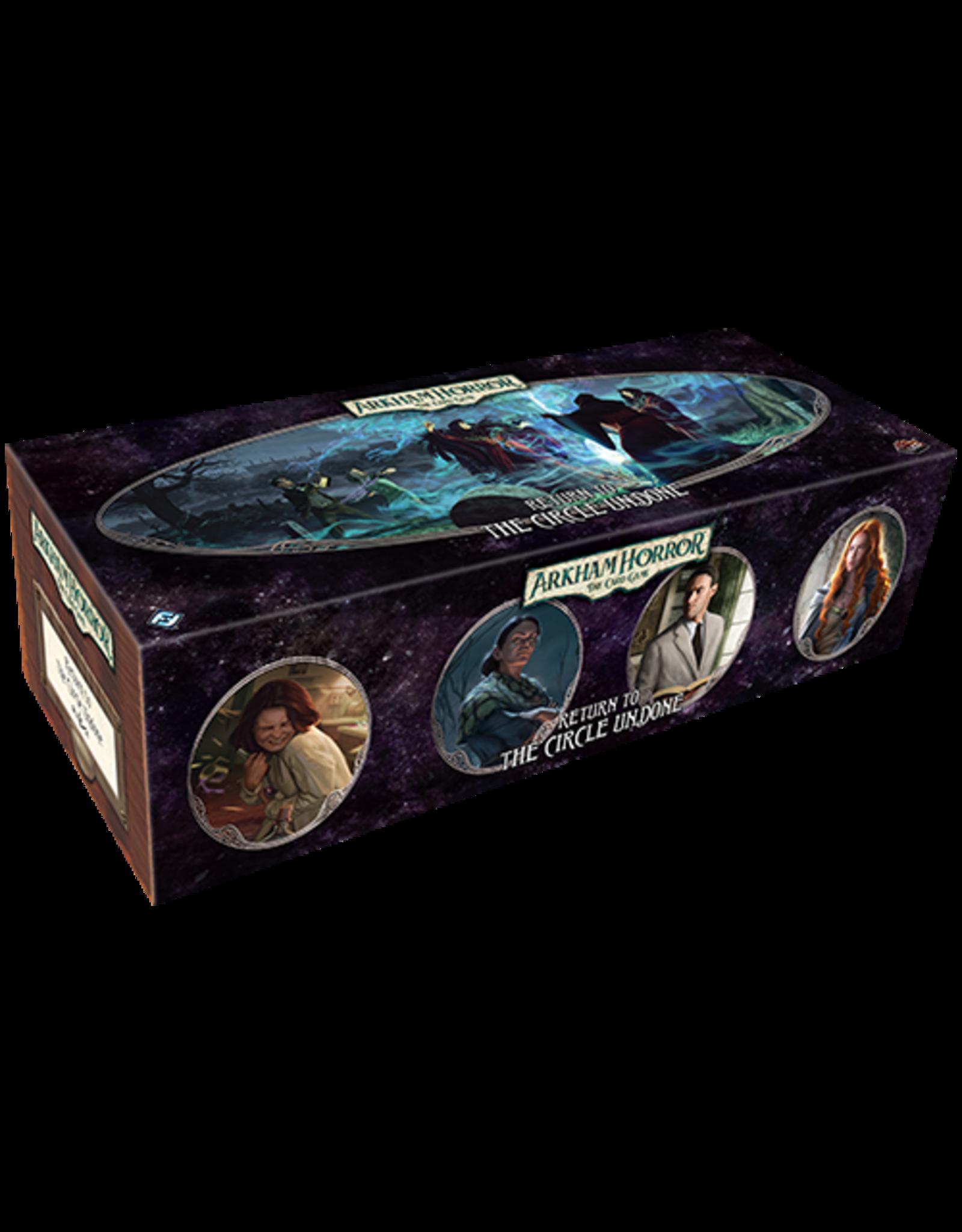 Fantasy Flight Games Arkham Horror LCG Return to the Circle Undone