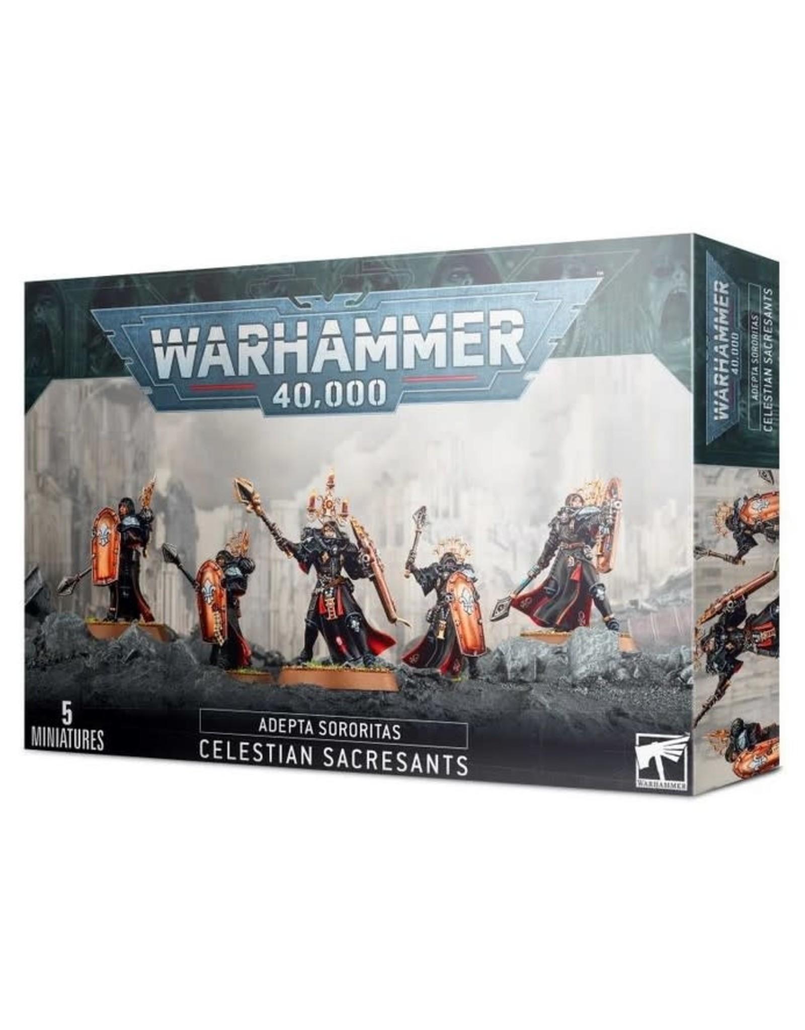 Games Workshop WH40K Adepta Sororitas Celestian Sacresants