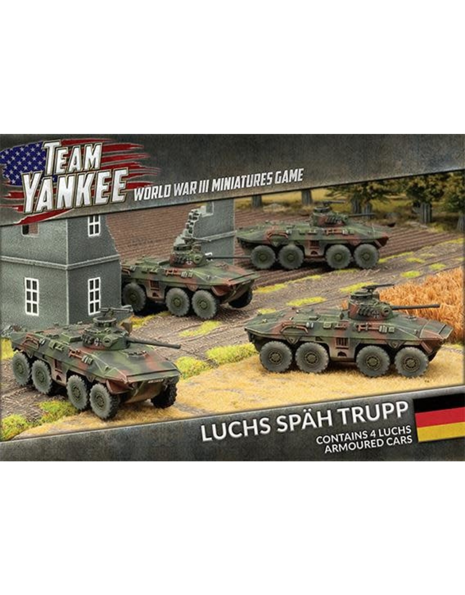 Battlefront Miniatures Team Yankee: Luchs Spah Trupp