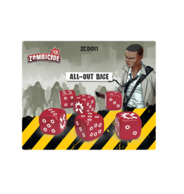 CMON Zombicide 2nd Edition: All-Out Dice Pack