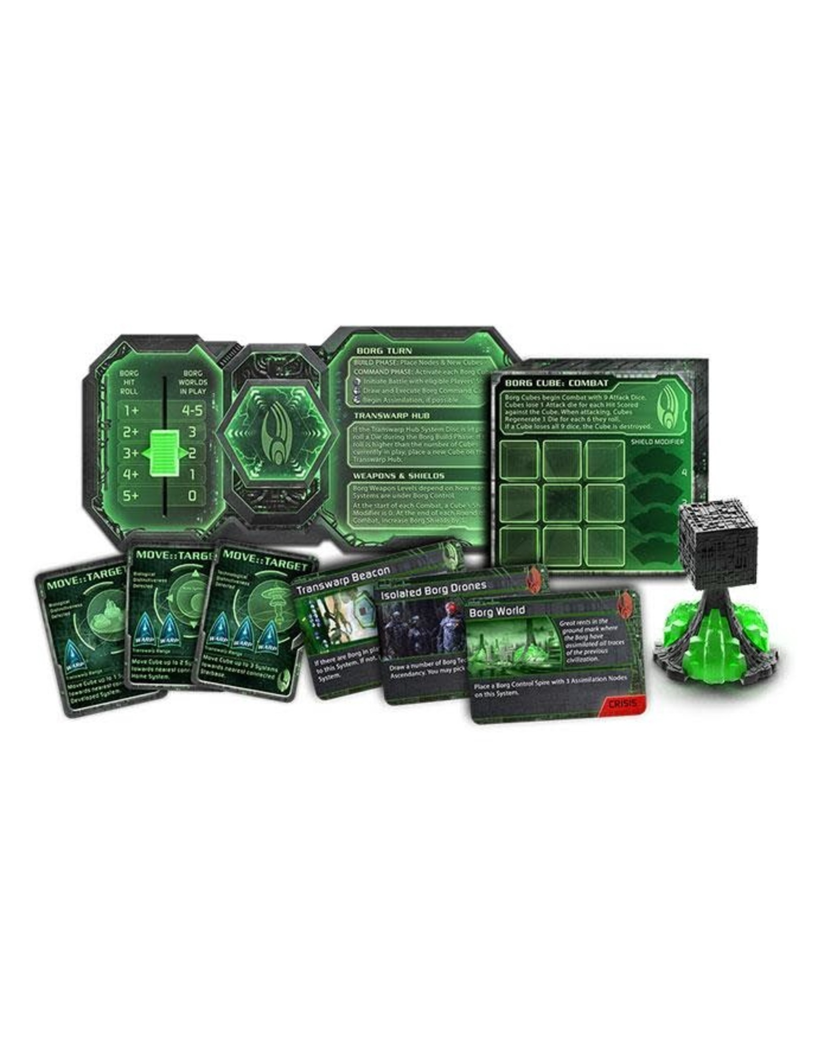 GaleForce nine Star Trek Ascendancy: Borg Assimilation