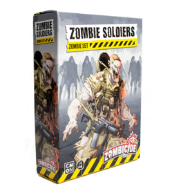 CMON Zombicide 2nd Edition: Zombie Soldiers Set