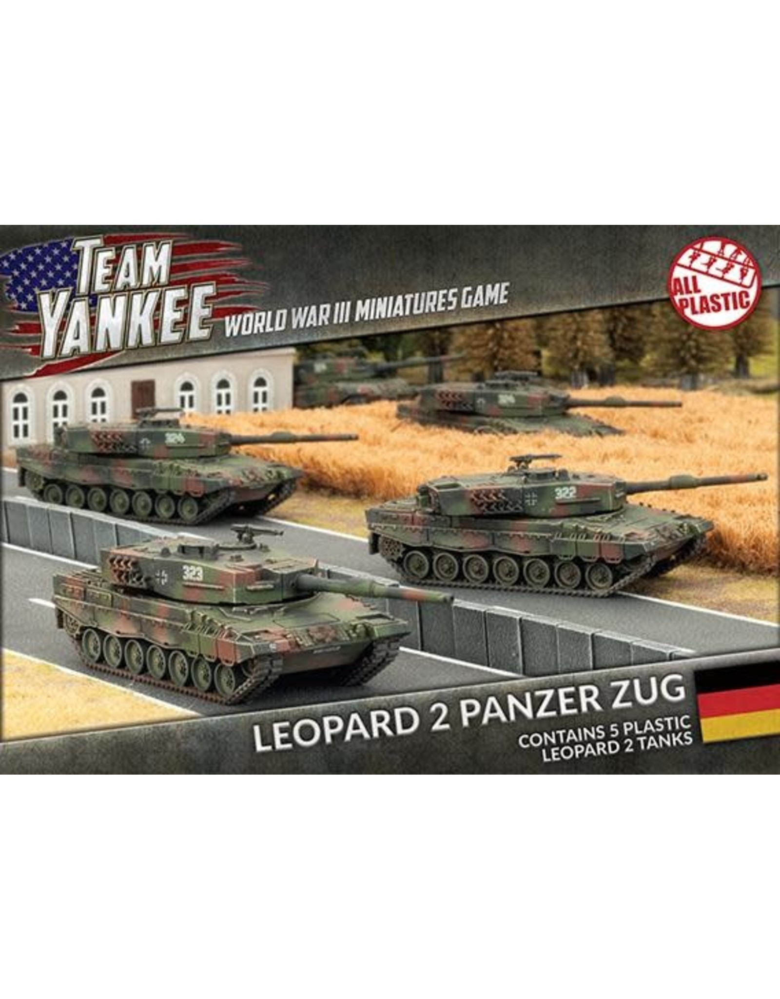 Team Yankee Team Yankee: Leopard 2 Panzer Zug