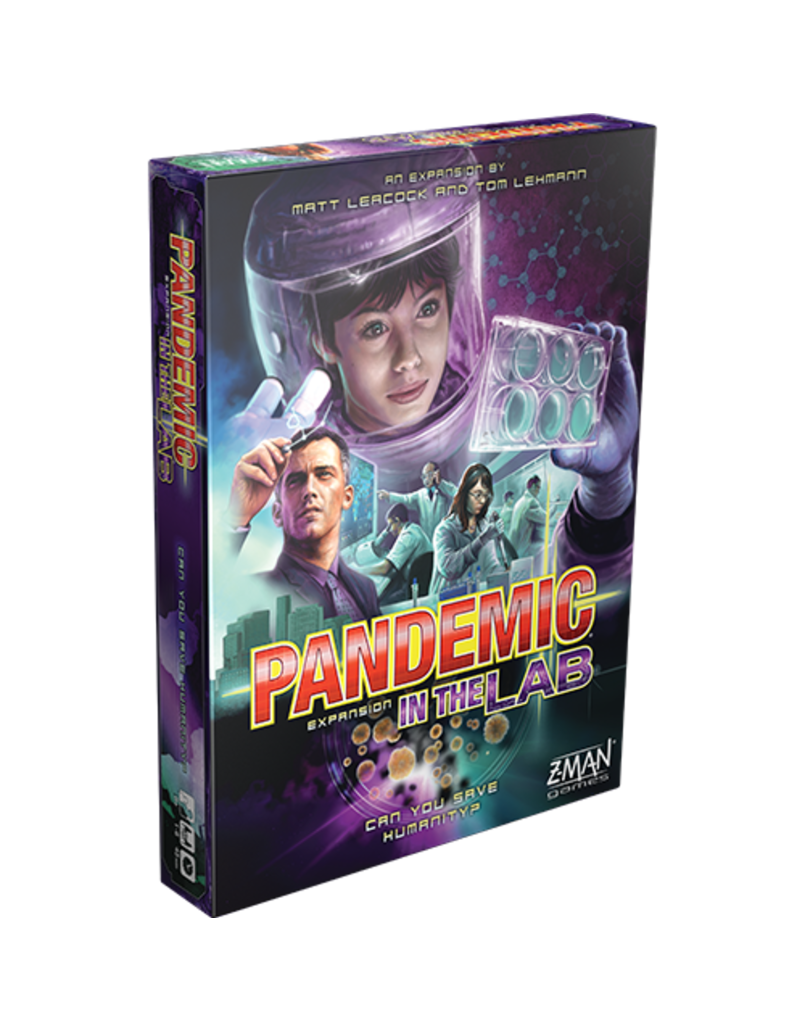 zman games Pandemic: In the Lab