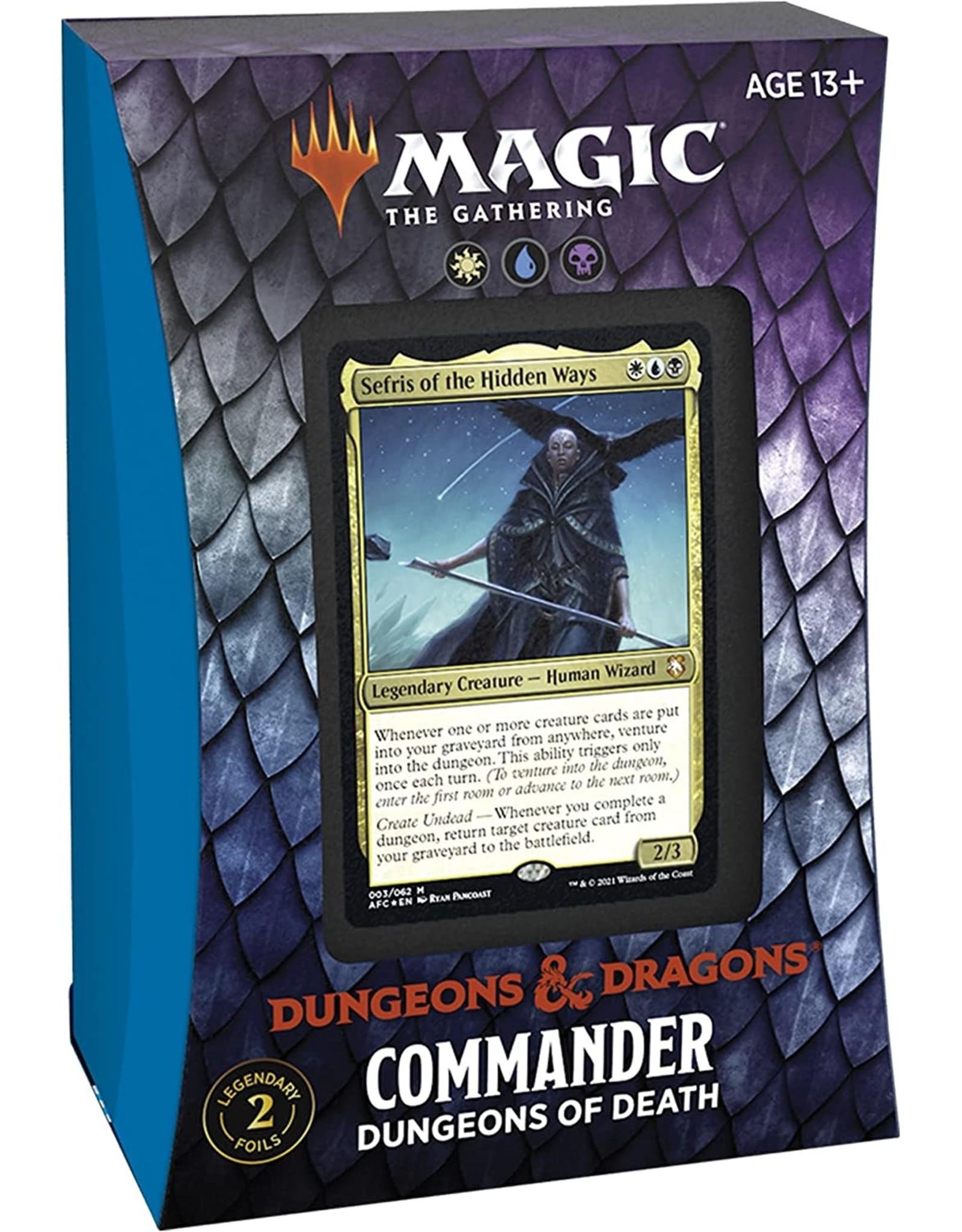 Wizards of the Coast MtG Commander Deck Aura of Courage