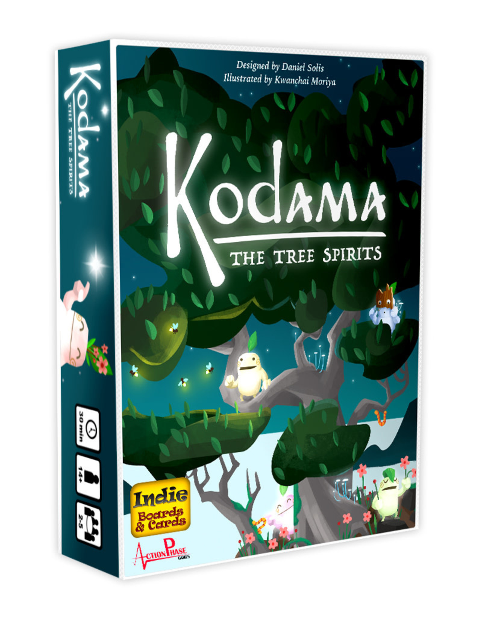 indie boards and cards Kodama: The Tree Spirits