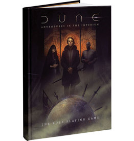 Modiphius Dune RPG: Core Rulebook Cover Hardcover