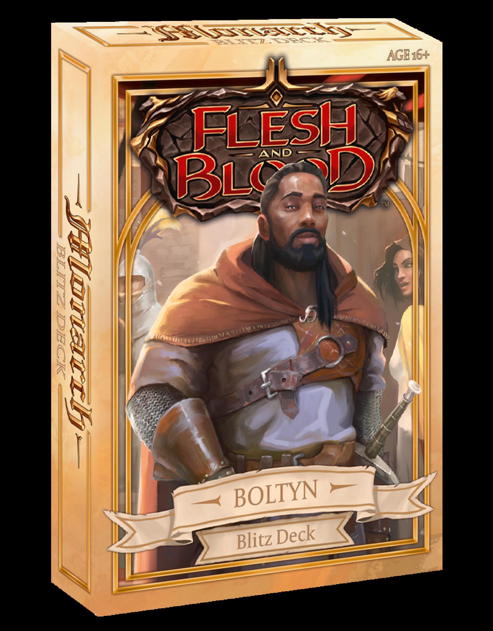 Legend Story Studios Flesh and Blood Blitz Deck Boltyn