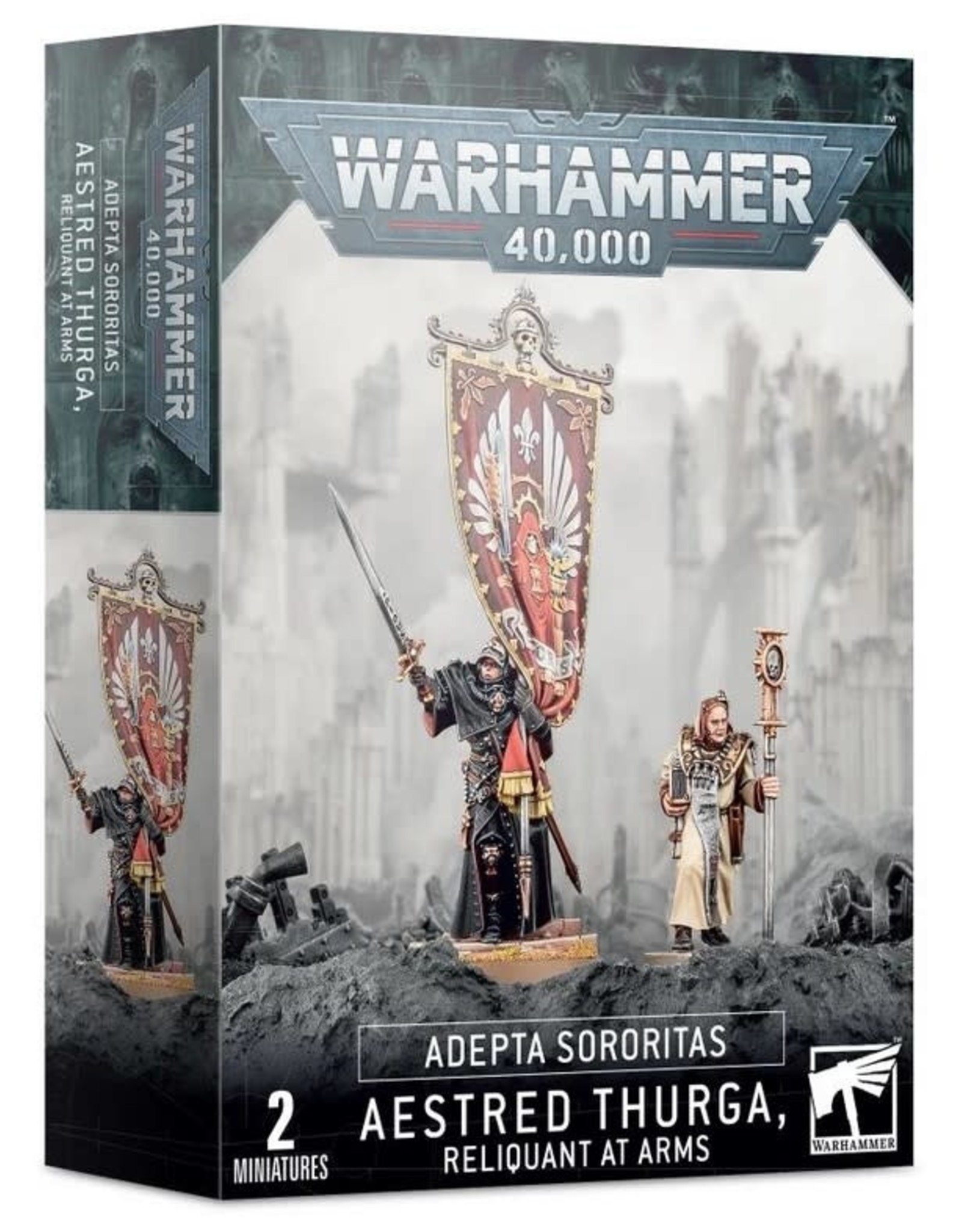 Warhammer 40K WH40K Aestred Thurga, Reliquant at Arms