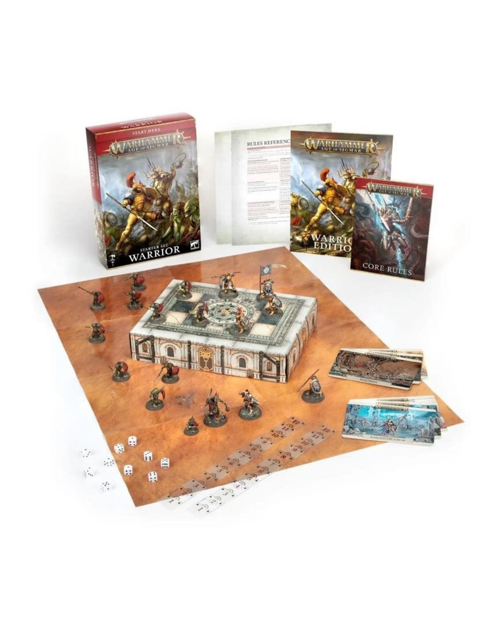 Warhammer AoS WHAoS: Warrior Starter Set