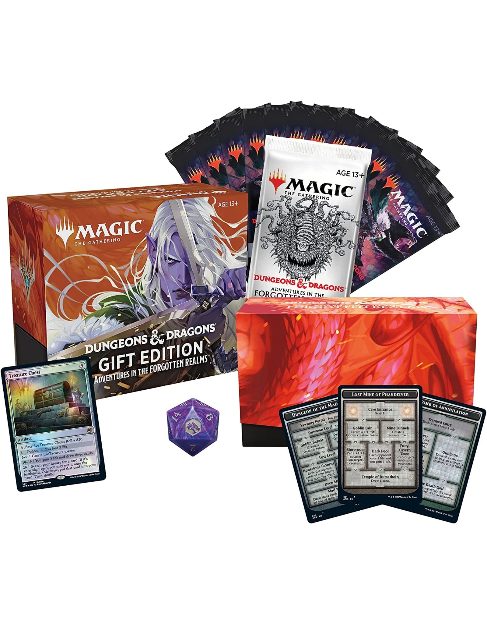 Wizards of the Coast MtG Adventures in the Forgotten Realms Gift Edition