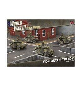 Battlefront Miniatures Team Yankee: Fox Recce Troop