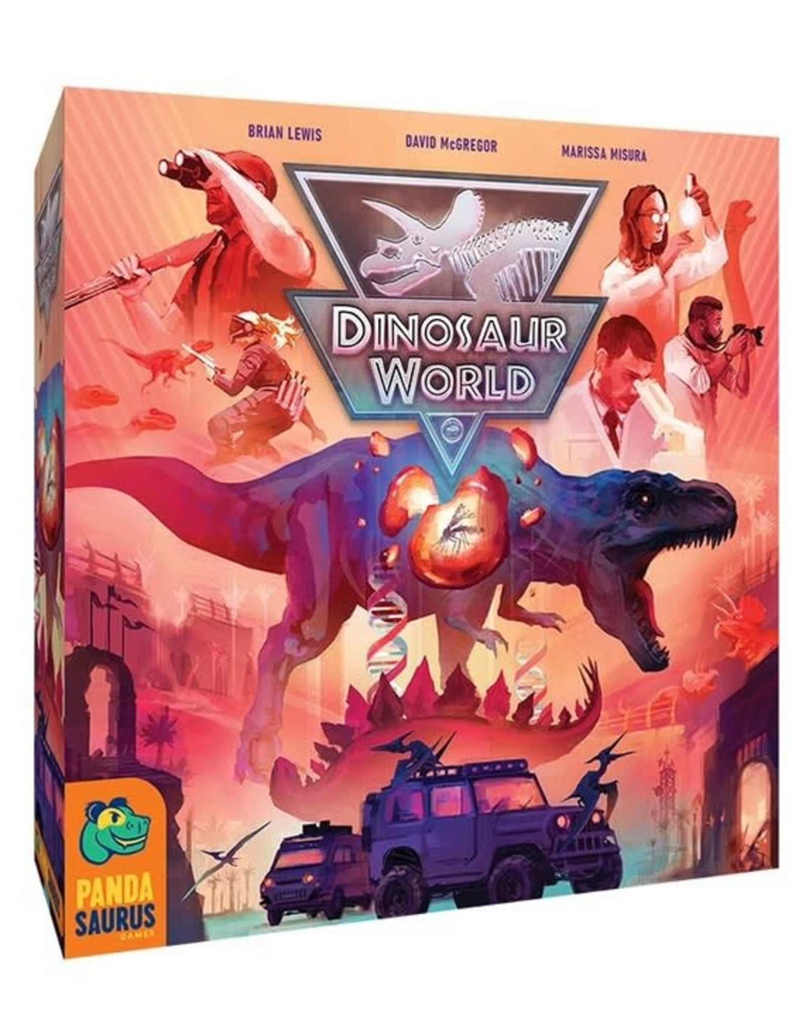 Pandasaurus Games Dinosaur World