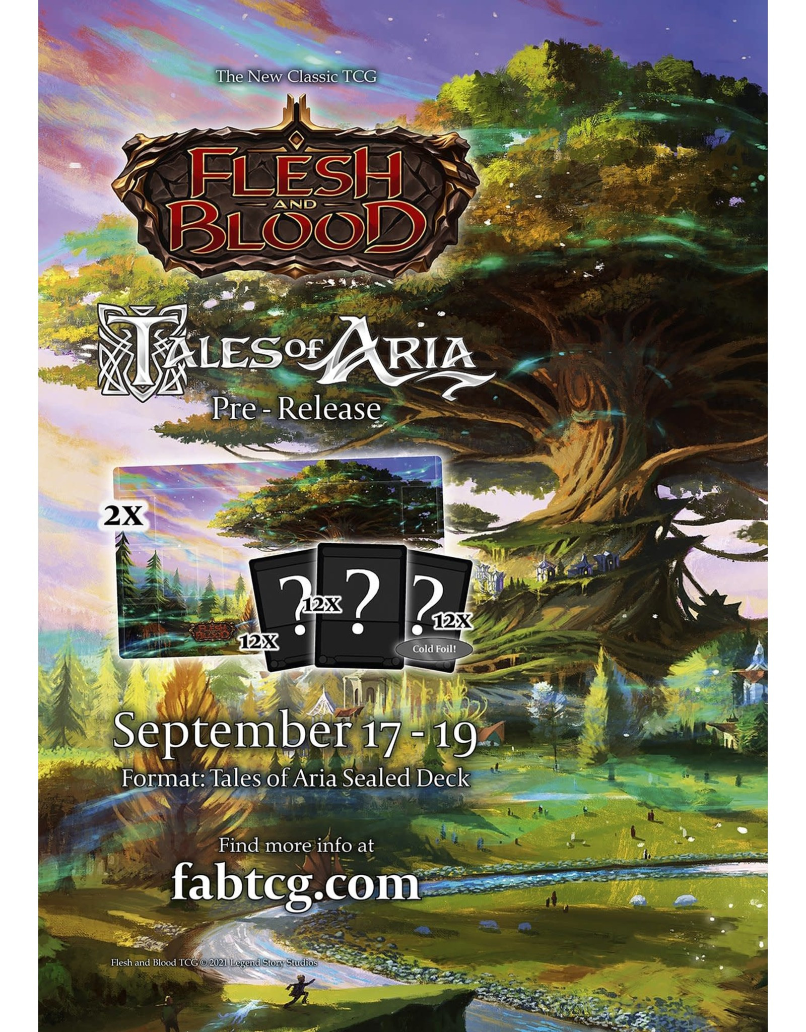 Gift of Games FaB Tales of Aria Pre-Release