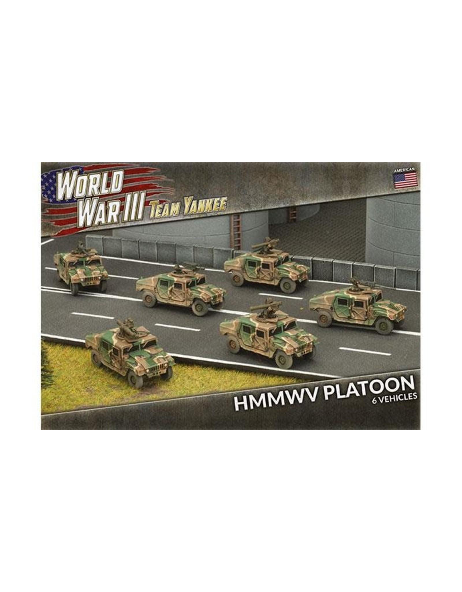 Battlefront Miniatures Team Yankee: HMMWV Platoon