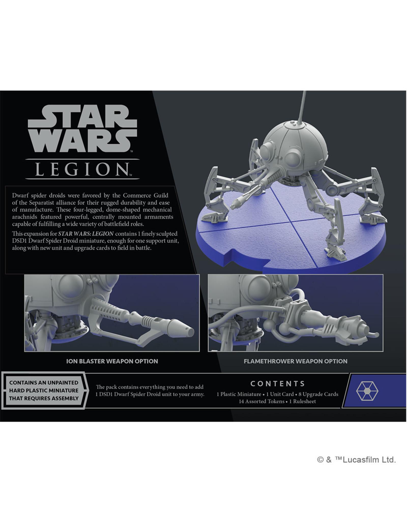Atomic Mass Games Star Wars Legion - DSD1 Dwarf Spider Droid Unit Expansion