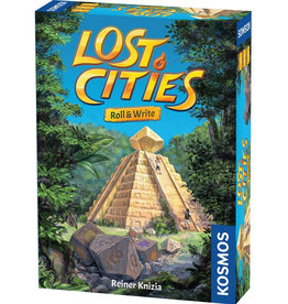 Thames and Kosmos Lost Cities: Roll & Write