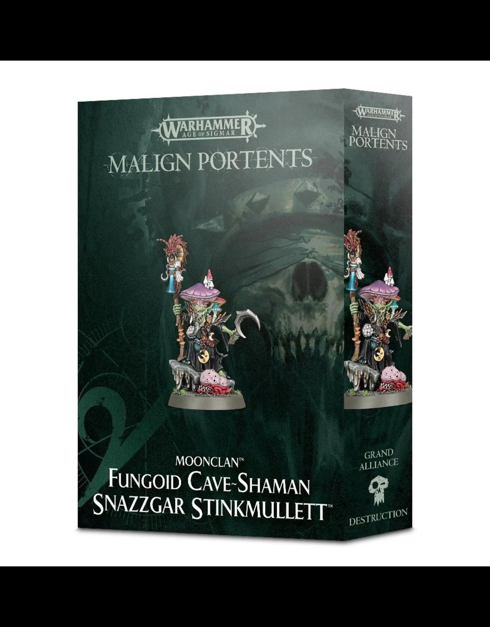 Games Workshop WHAoS Gloomspite: Fungoid Cave-Shaman Snazzgar Stinkmullett