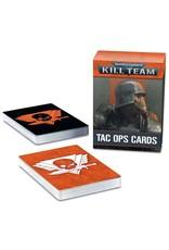 Games Workshop WH40K Kill Team: Tac Ops Cards