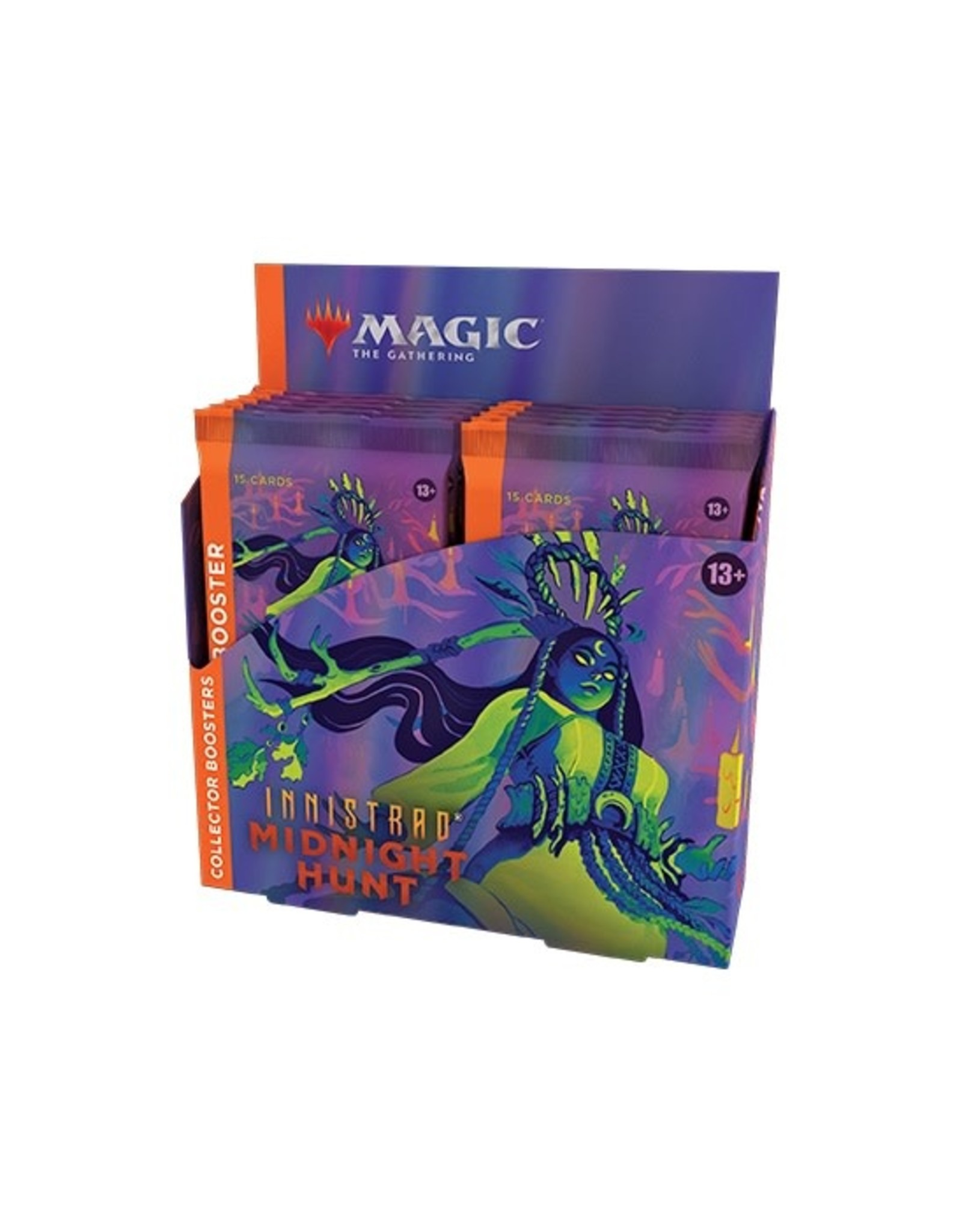 Wizards of the Coast MtG Innistrad: Midnight Hunt Collector Booster Box