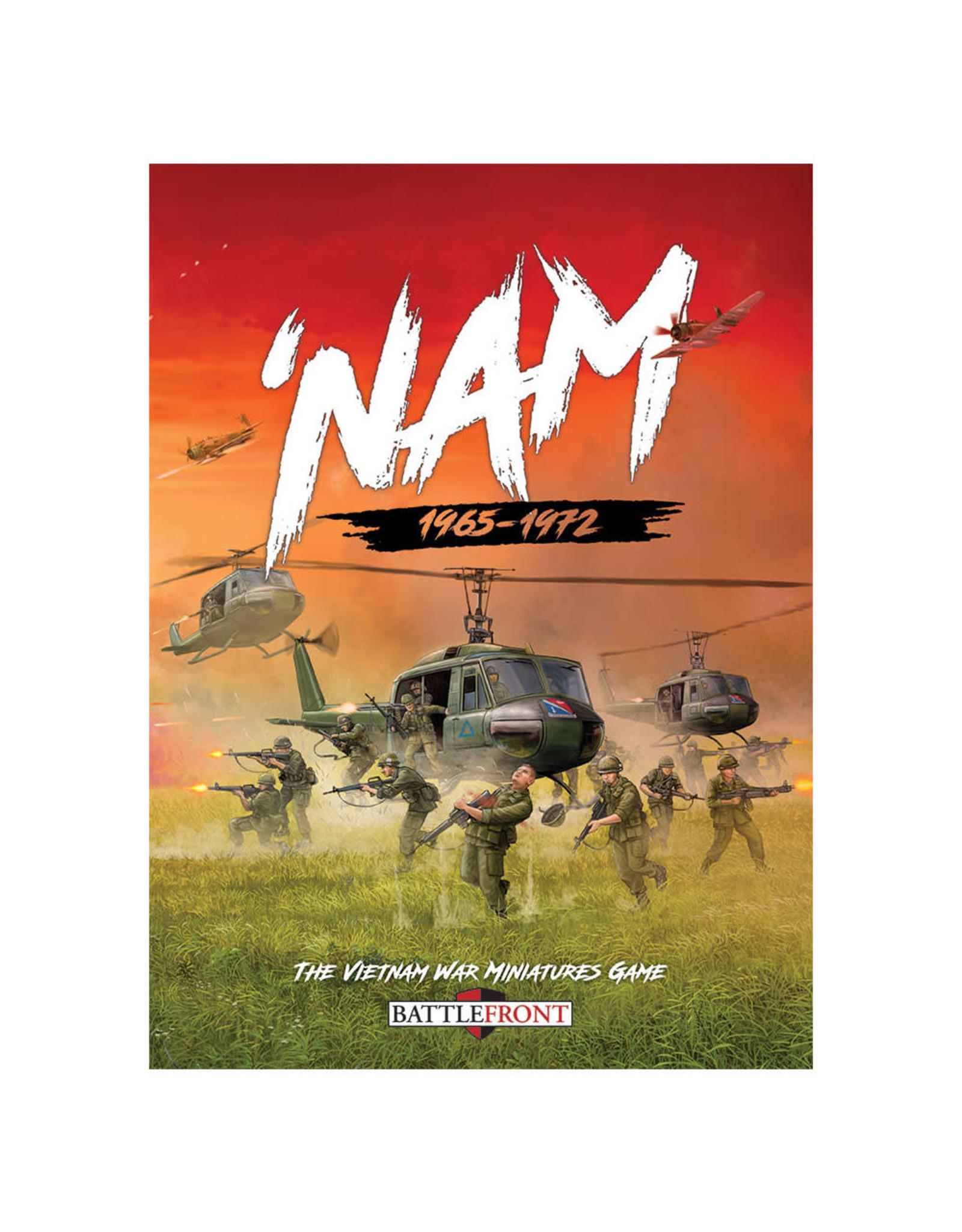 Battlefront Miniatures Team Yankee 'Nam 1965-1972 Rule Book