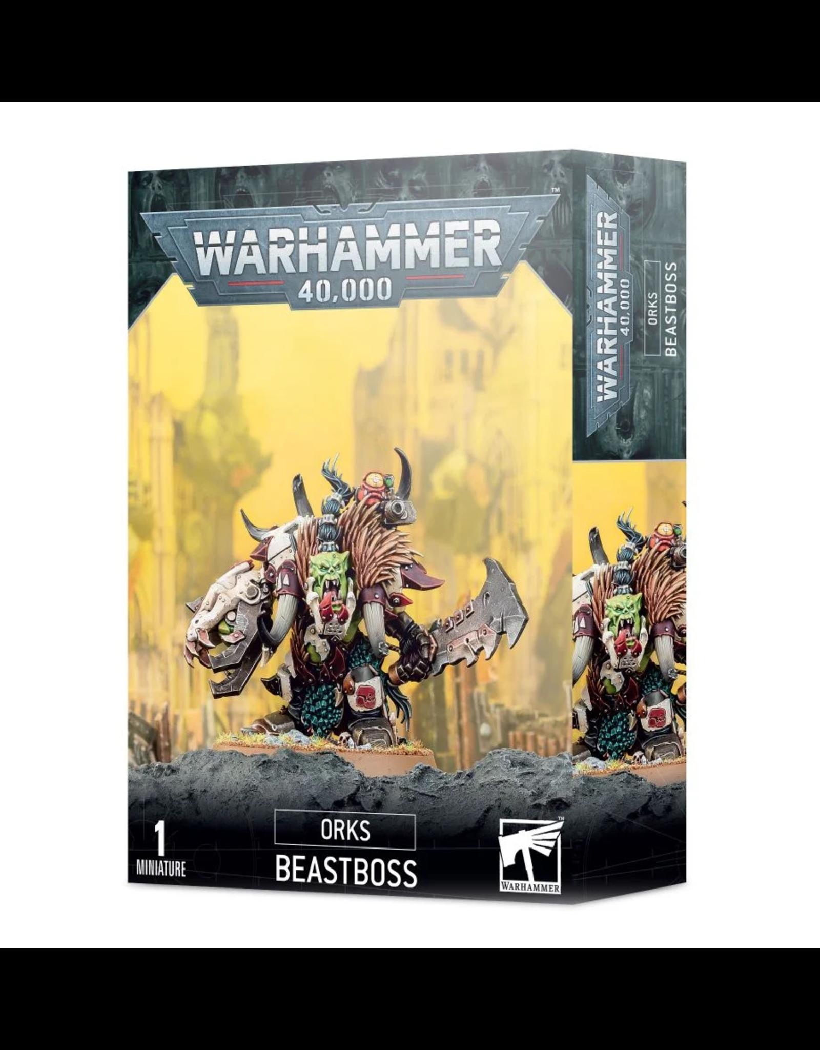 Games Workshop WH40k Orks: Beastboss