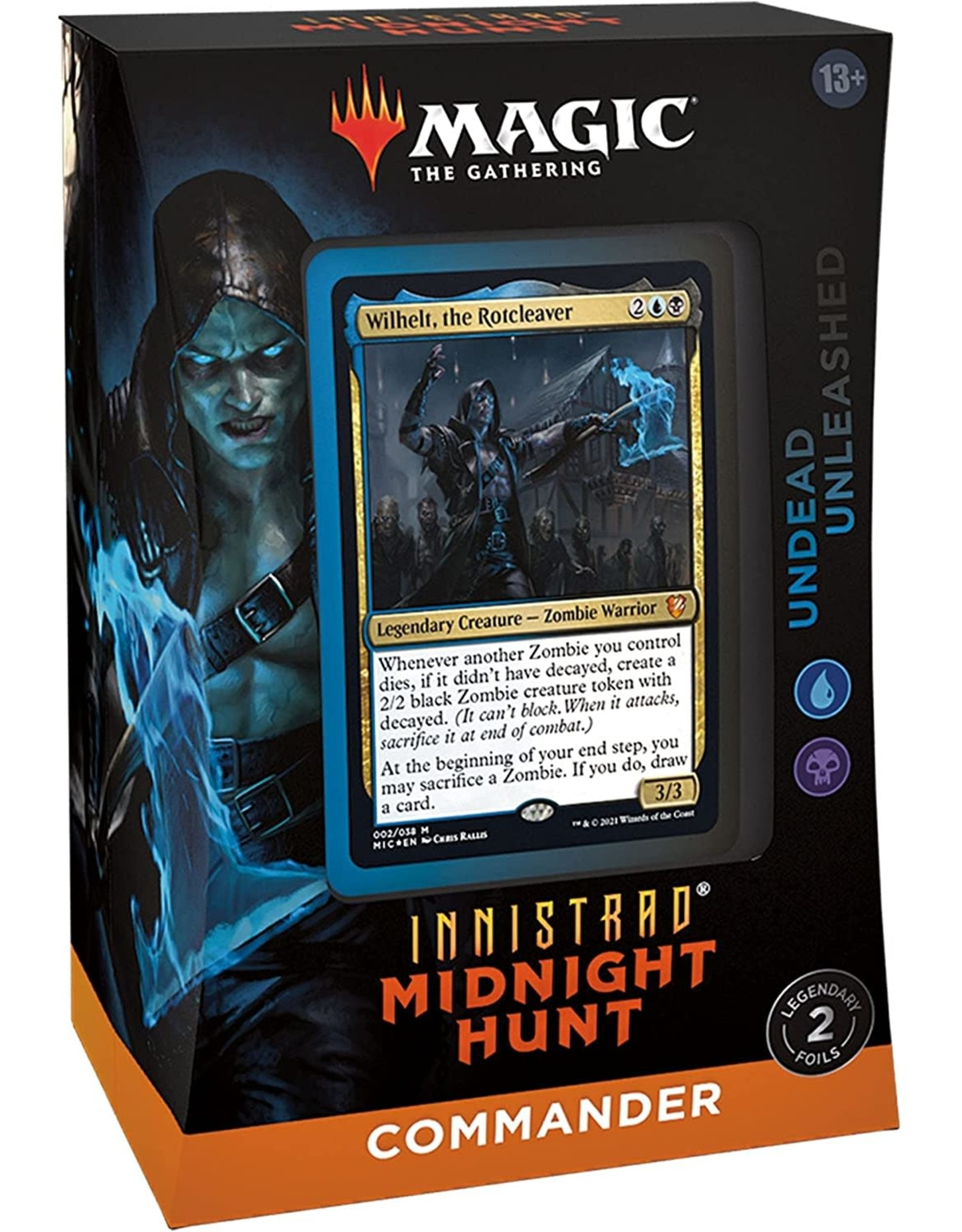 Wizards of the Coast MtG Commander Deck Undead Unleashed