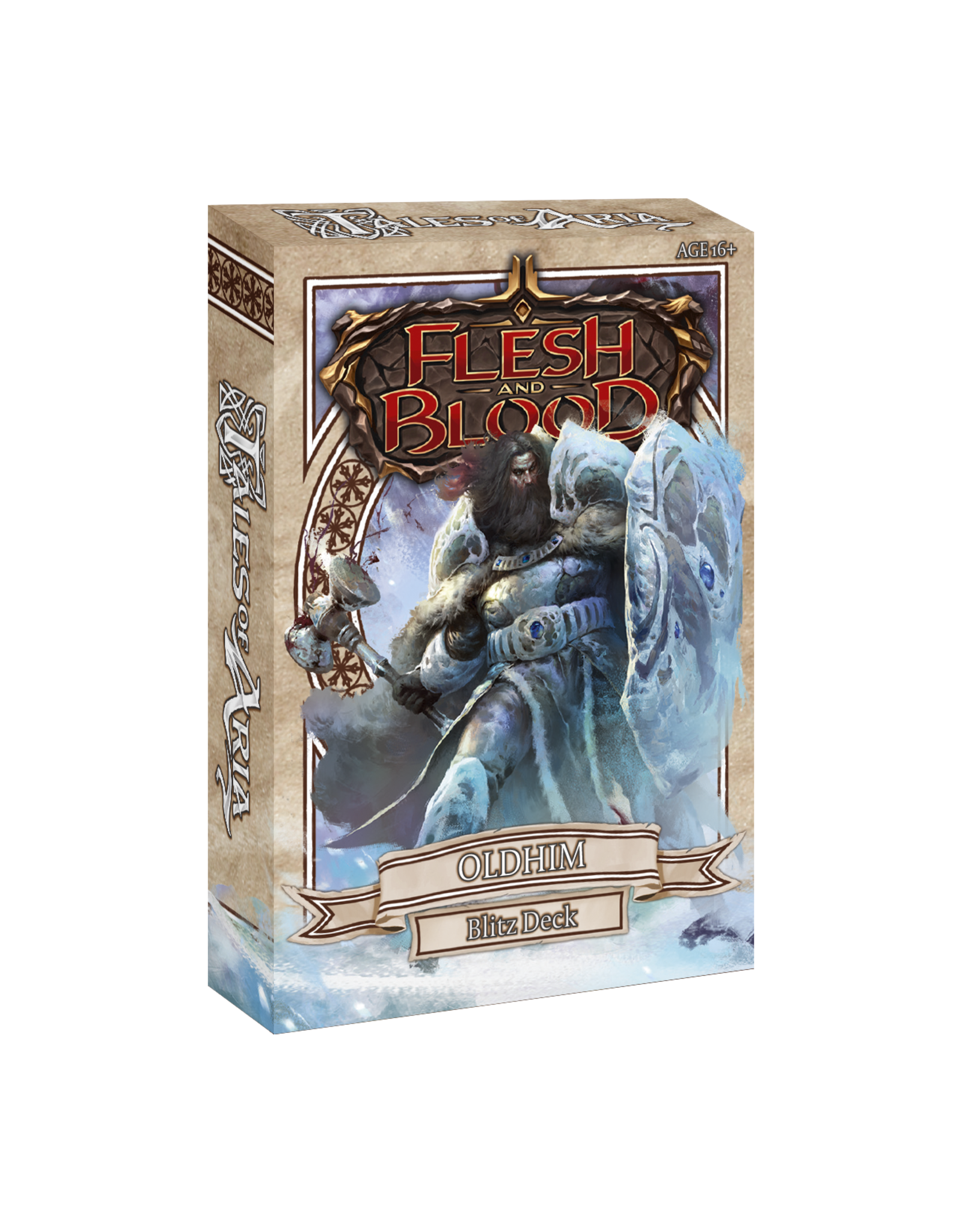Legend Story Studios Flesh and Blood Blitz Deck Oldhim
