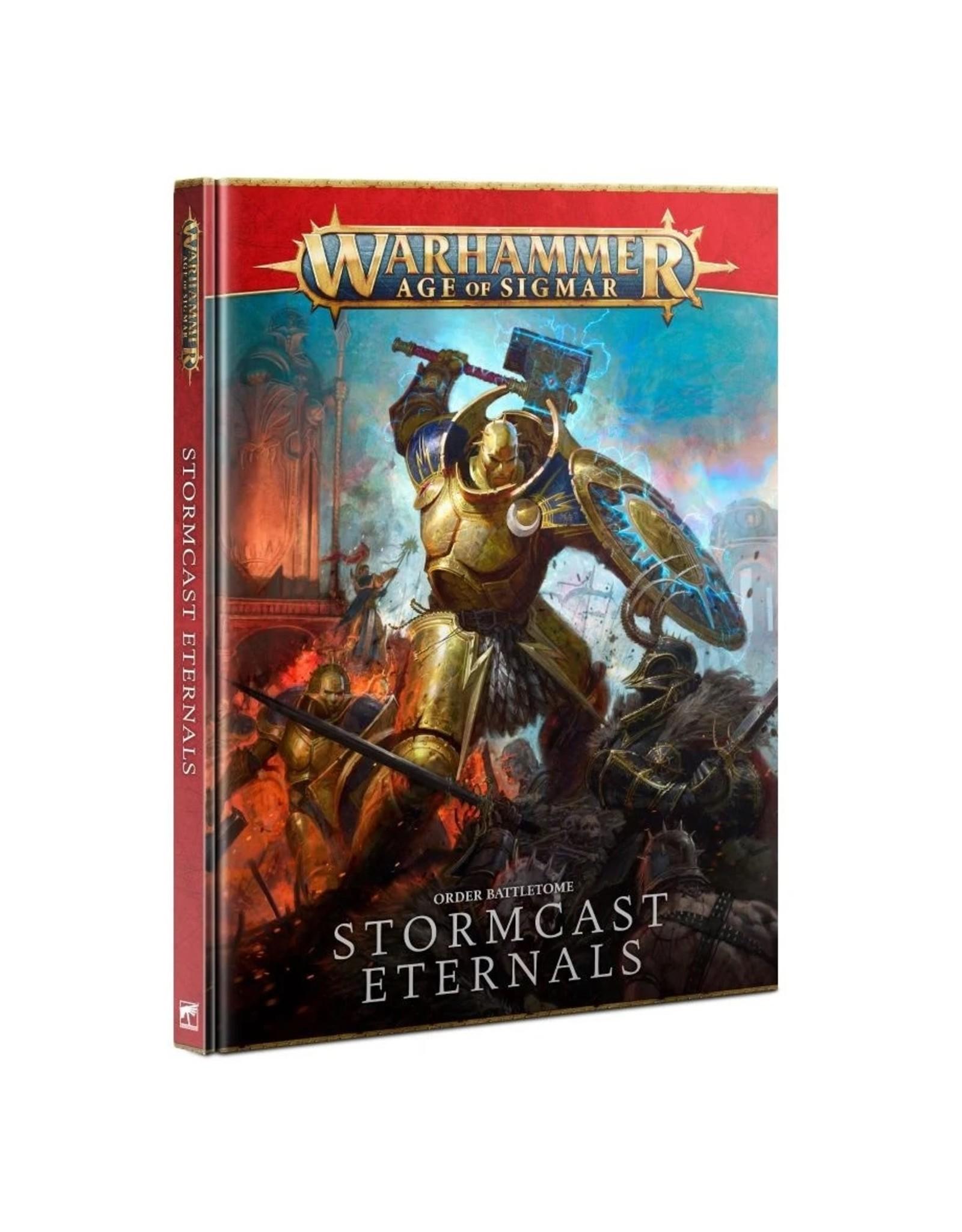 Games Workshop WHAoS Battletome - Stormcast Eternals