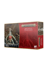 Games Workshop WHAoS Orruk Warclans: Breaka-boss on Mirebrute Troggoth