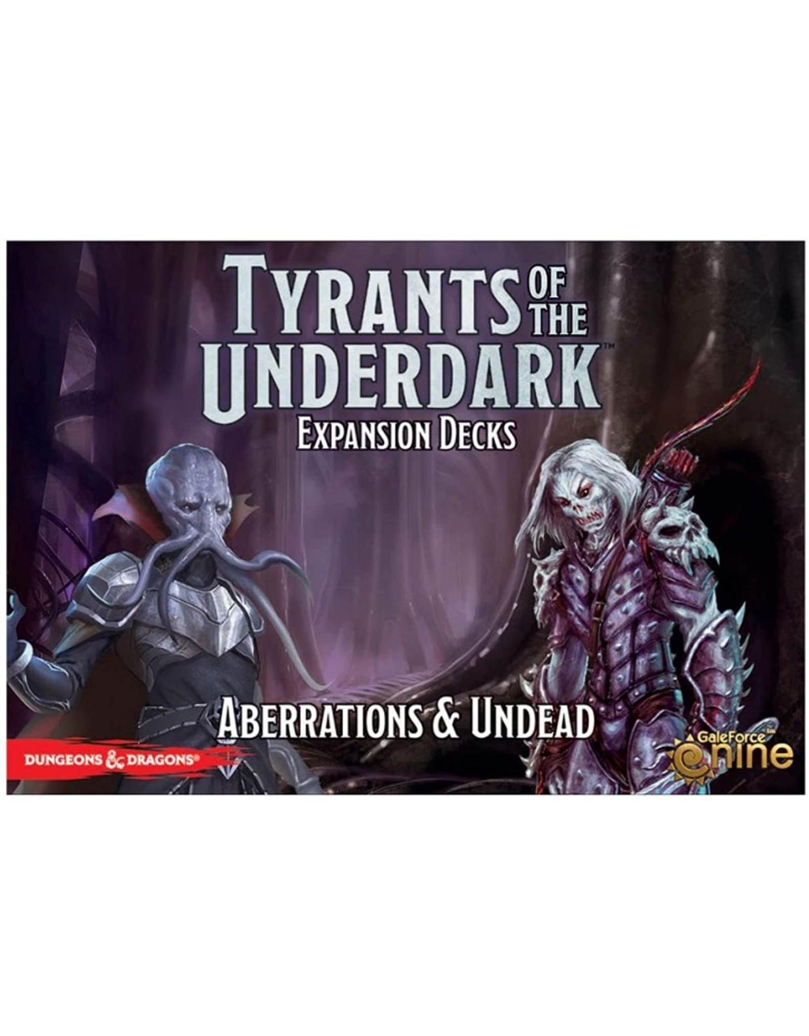 GaleForce nine Tyrants of the Underdark Expansion: Aberrations and Undead