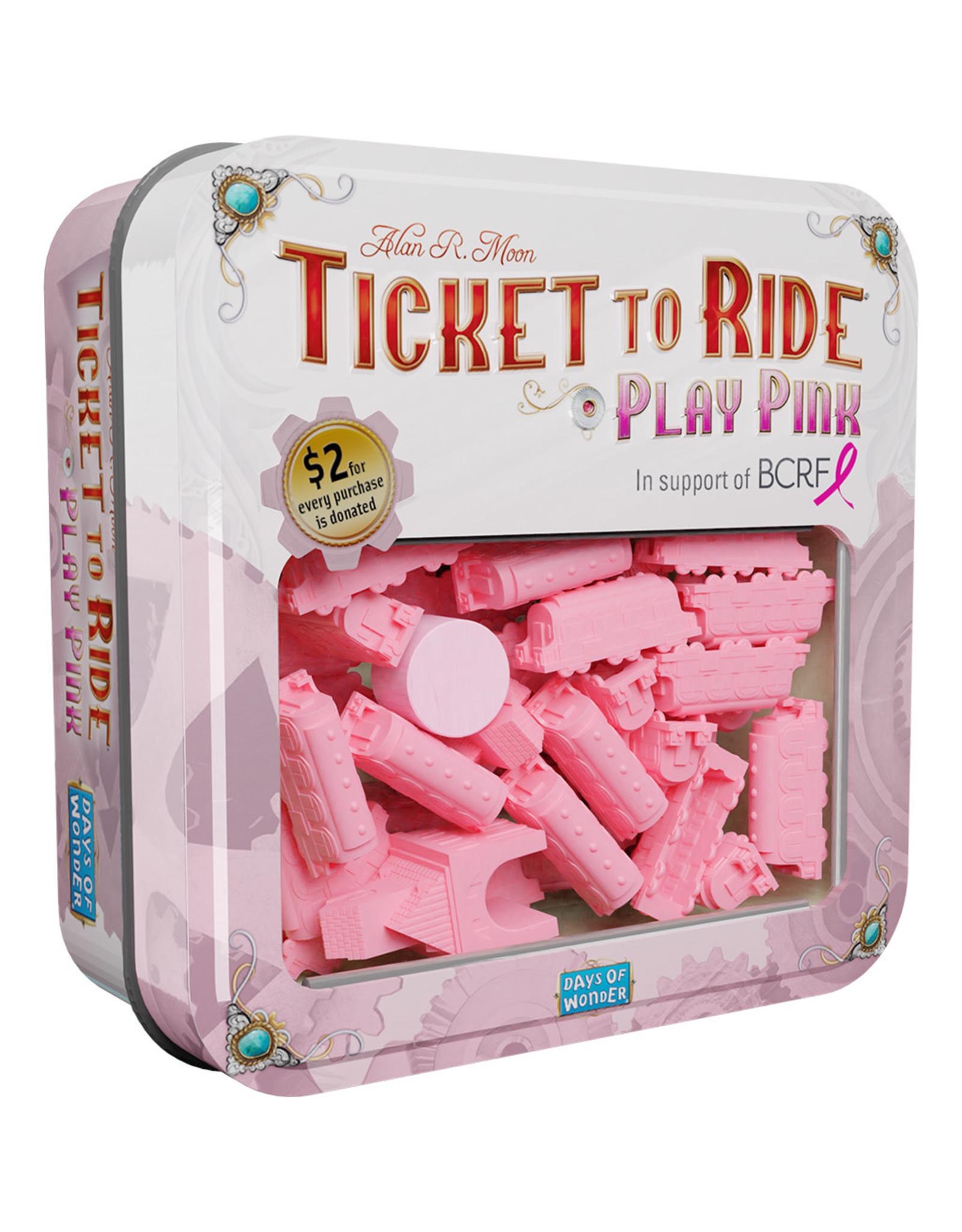 Days of Wonder Ticket to Ride: Play Pink