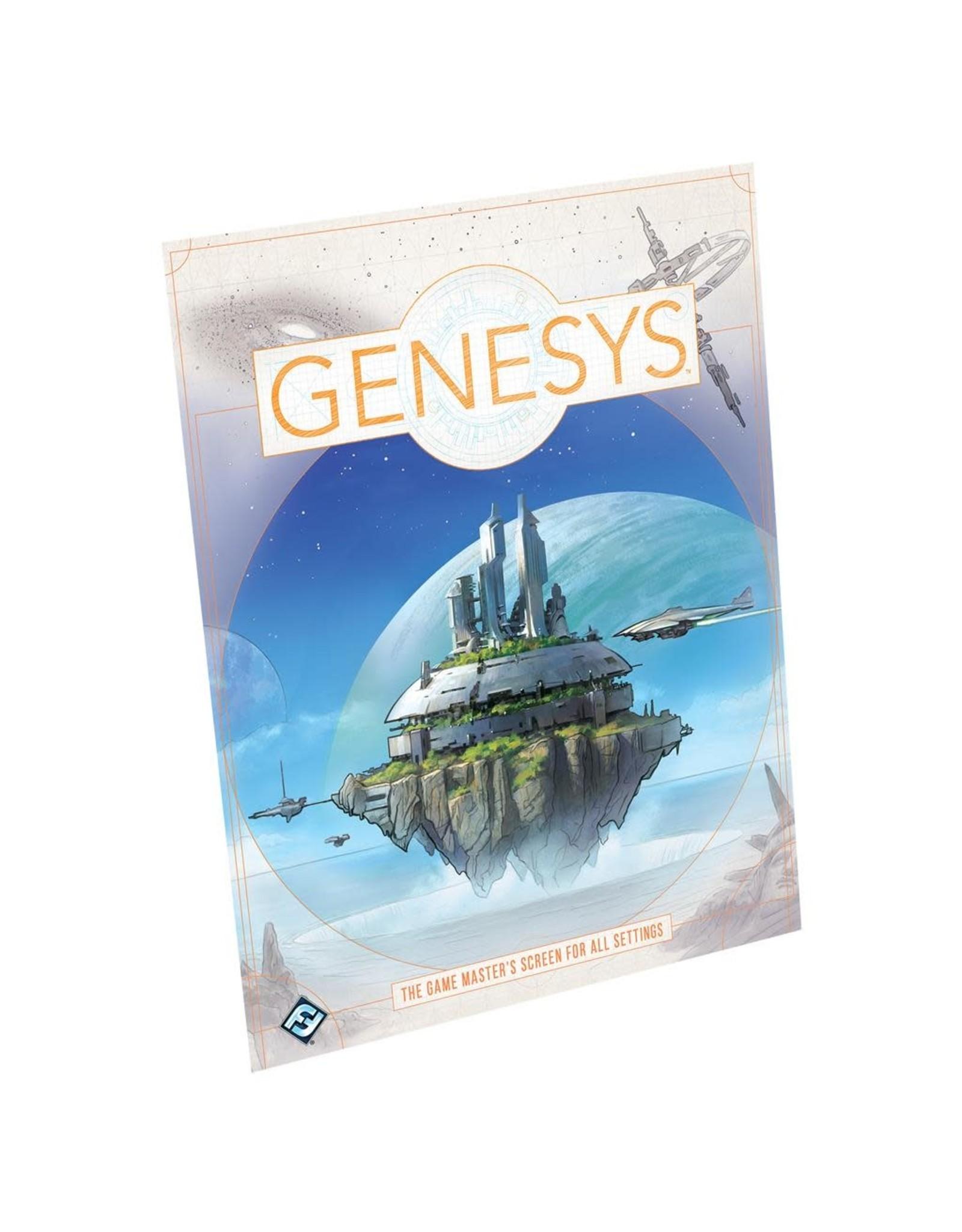 Fantasy Flight Games Genesys Game Master's Screen