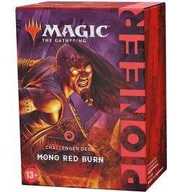 Wizards of the Coast Pioneer Challenger Deck Mono Red Burn