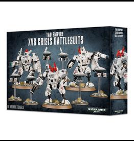 Games Workshop WH40k T'au Empire XV8 Crisis Battlesuit Team