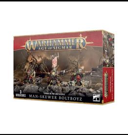 Games Workshop WHAoS Orruk Warclans: Man-Skewer Boltboyz