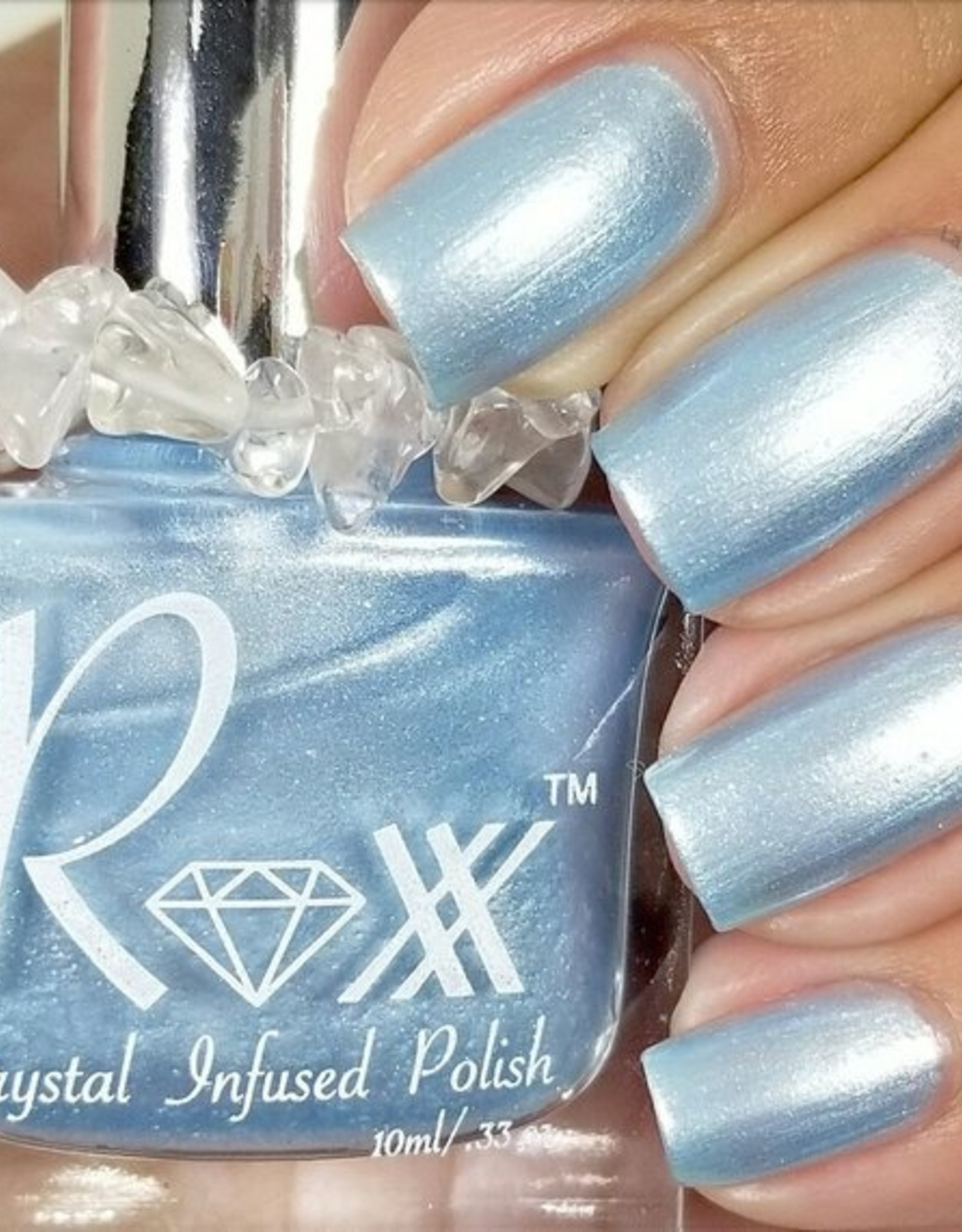 Roxx Polish (Pink Light Cosmetics) Blue Chalcedony Roxx Polish