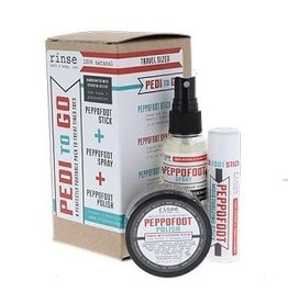 Rinse Peppofoot Pedi-to-Go Set