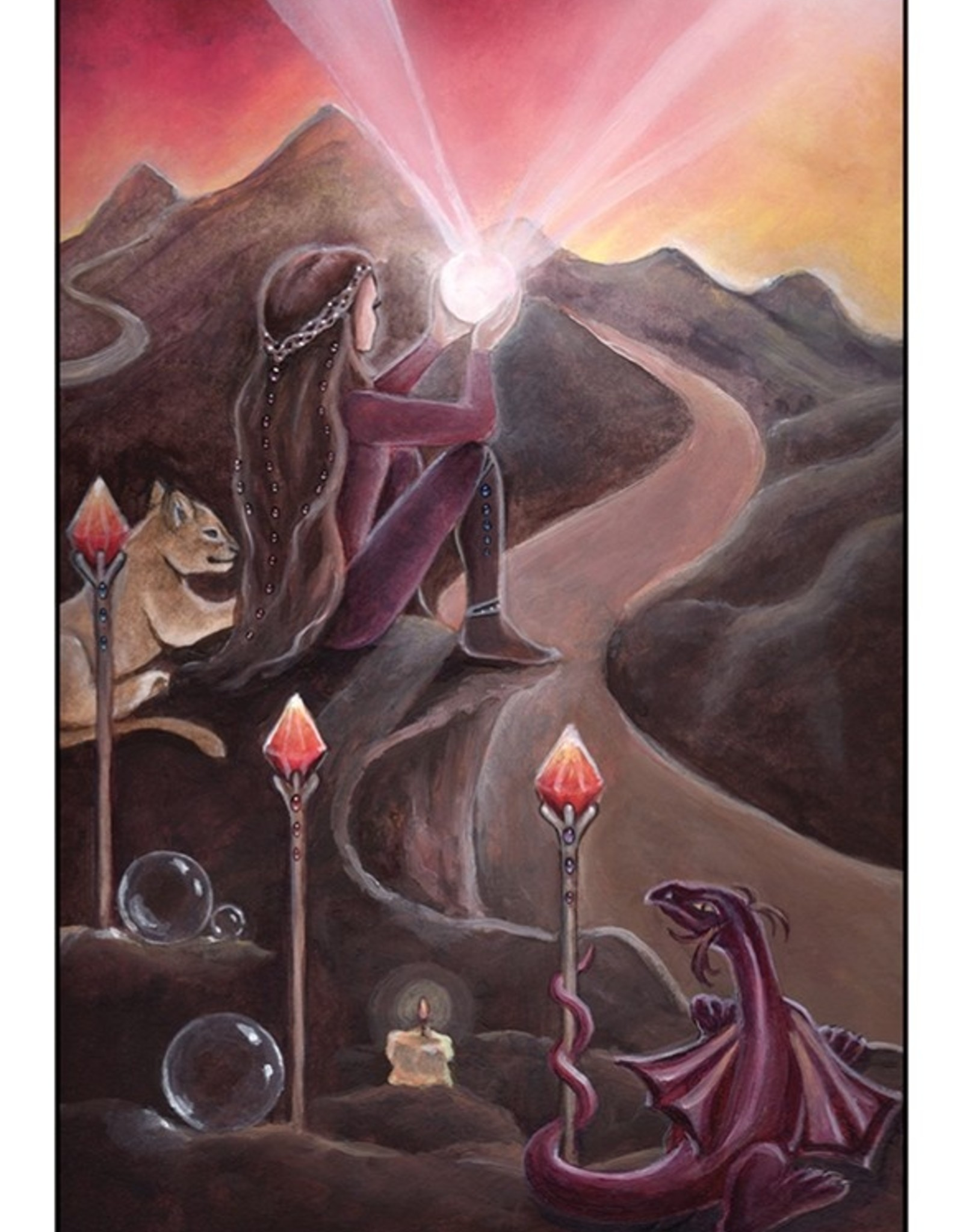 U.S. Games Systems, Inc. Crystal Visions Tarot
