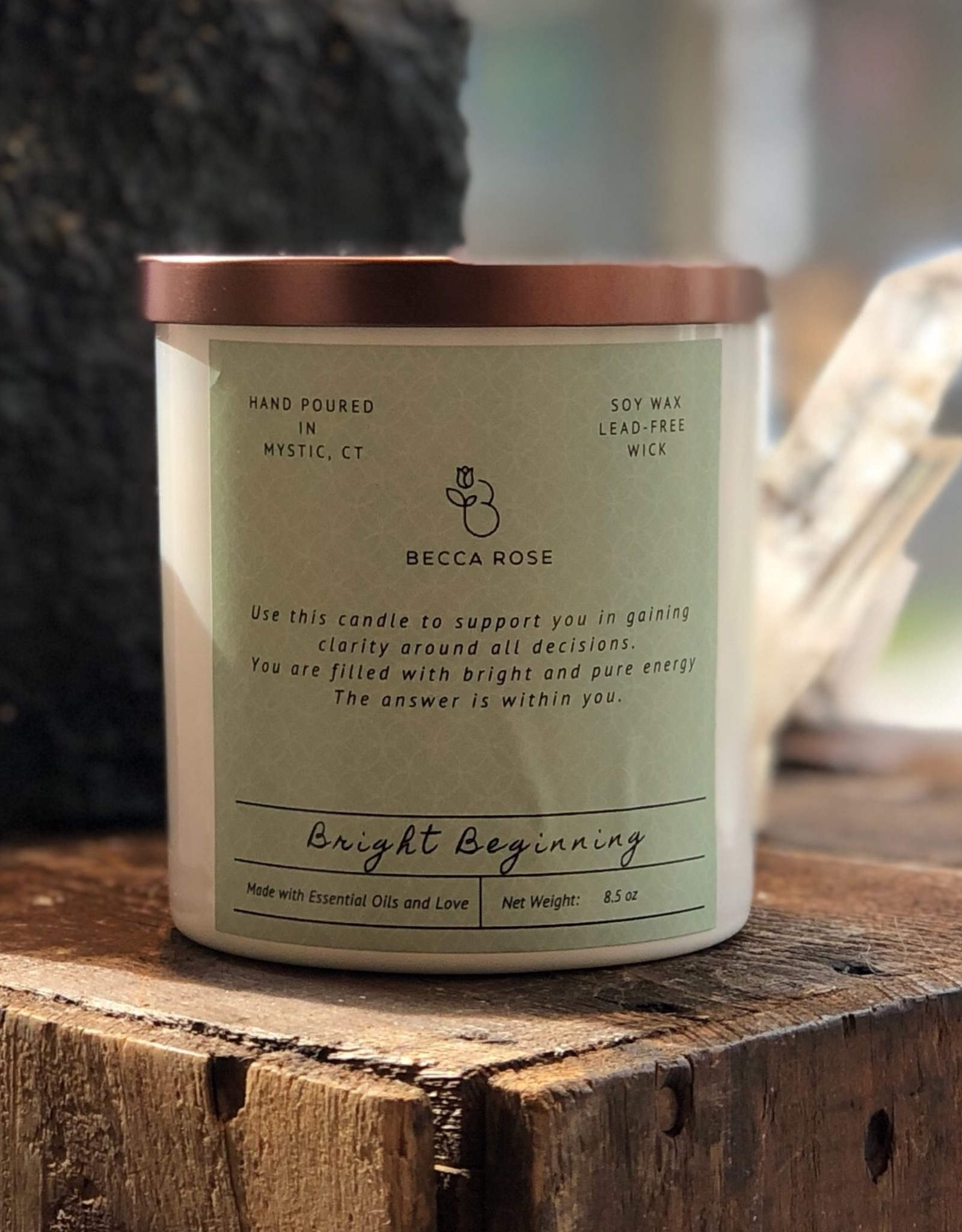 Becca Rose Soy Candle