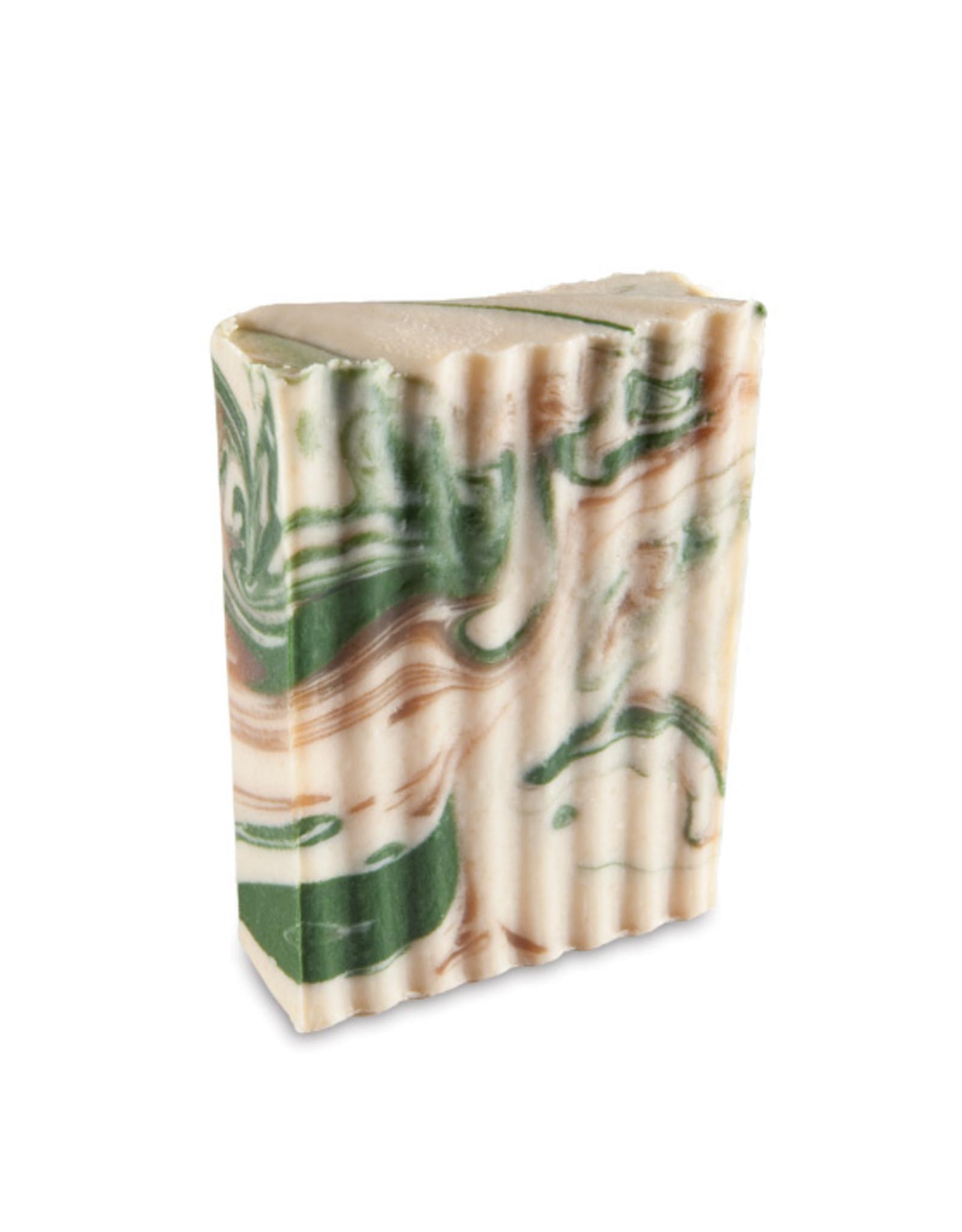 Indigo Wild Clove-Mint Goat Milk Soap