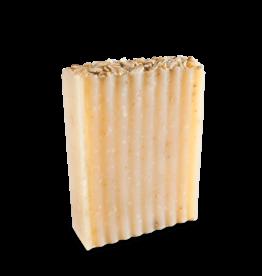 Oatmeal-Lavender Goat Milk Soap