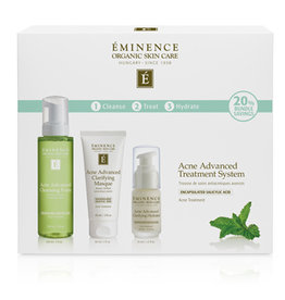 Eminence Organic Skin Care Acne Advanced Treatment System