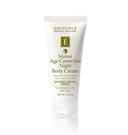 Eminence Organic Skin Care Monoi Age Corrective Night Body Cream