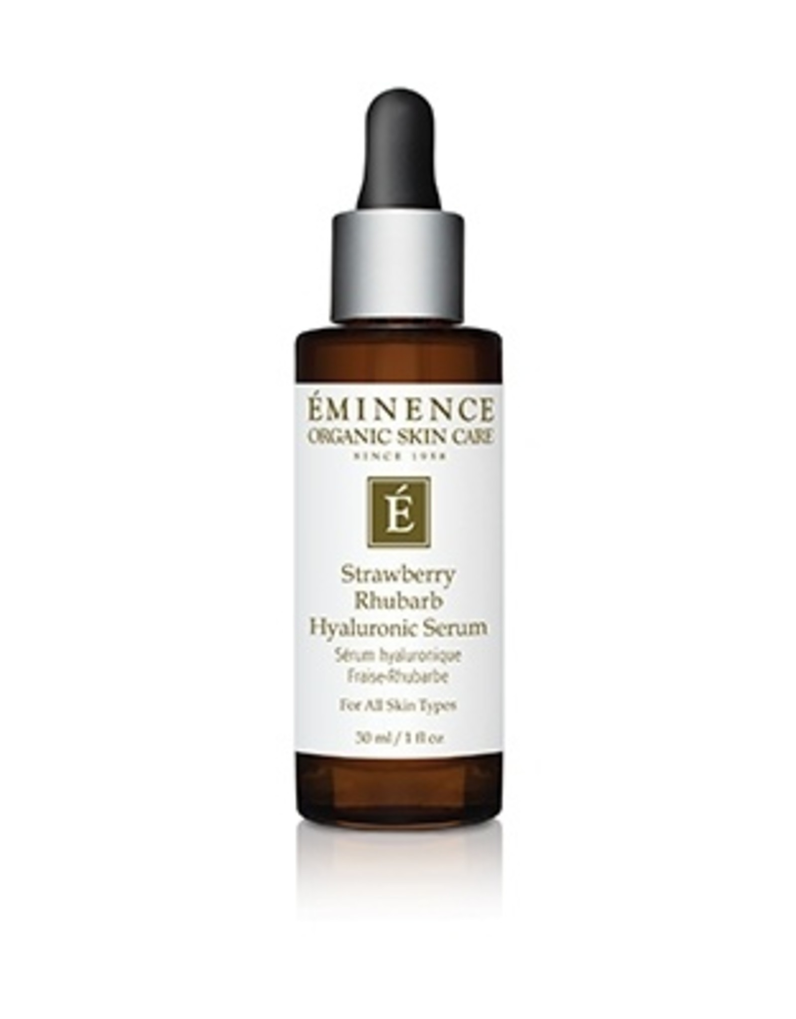 Eminence Organic Skin Care Strawberry Rhubarb Hyaluronic Serum