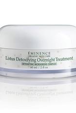 Eminence Organic Skin Care Lotus Detoxifying Overnight Treatment
