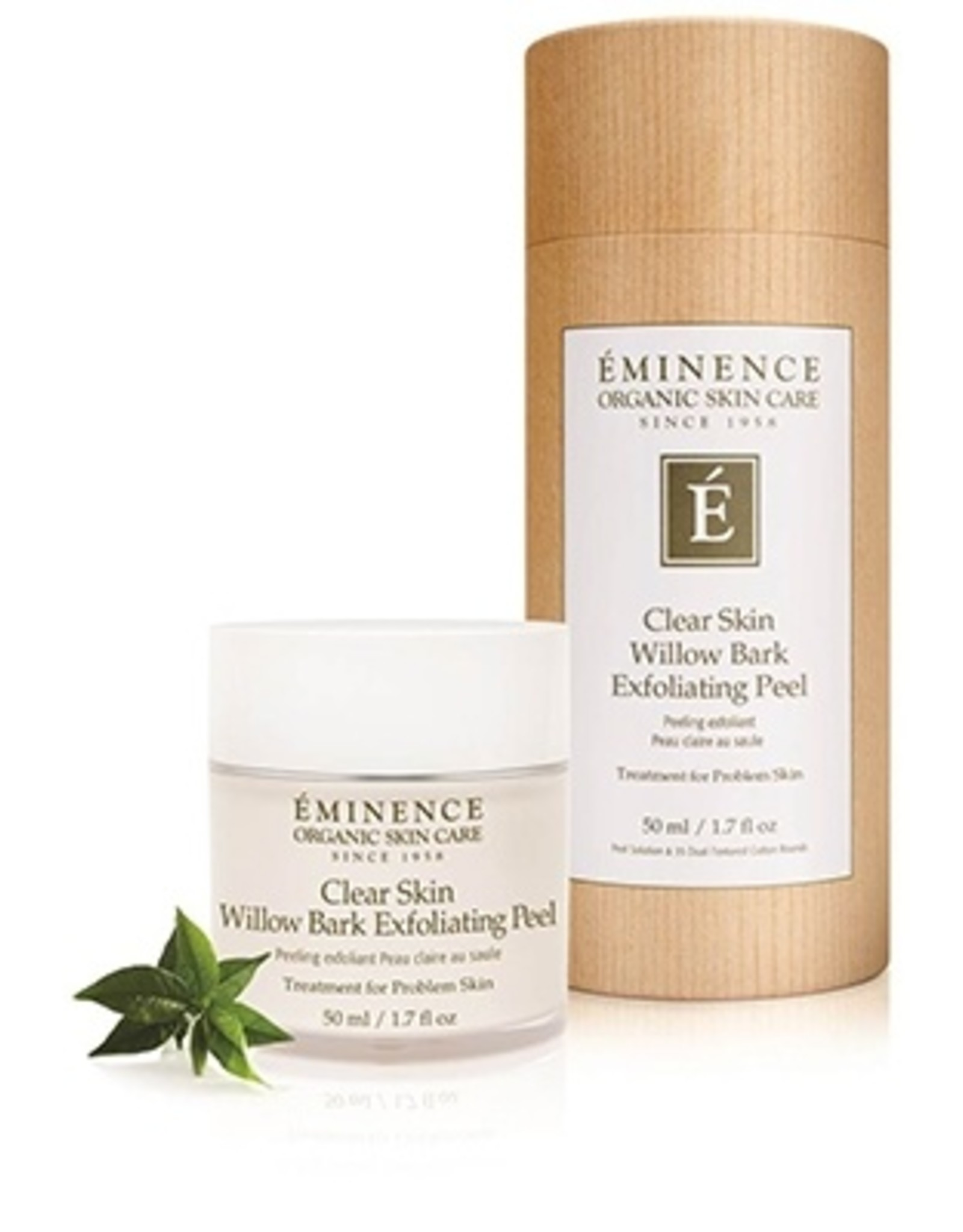 Eminence Organic Skin Care Clear Skin Willow Bark Exfoliating Peel