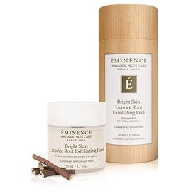 Eminence Organic Skin Care Bright Skin Licorice Root Exfoliating Peel