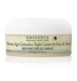 Eminence Organic Skin Care Monoi Age Corrective Night Cream for Face & Neck
